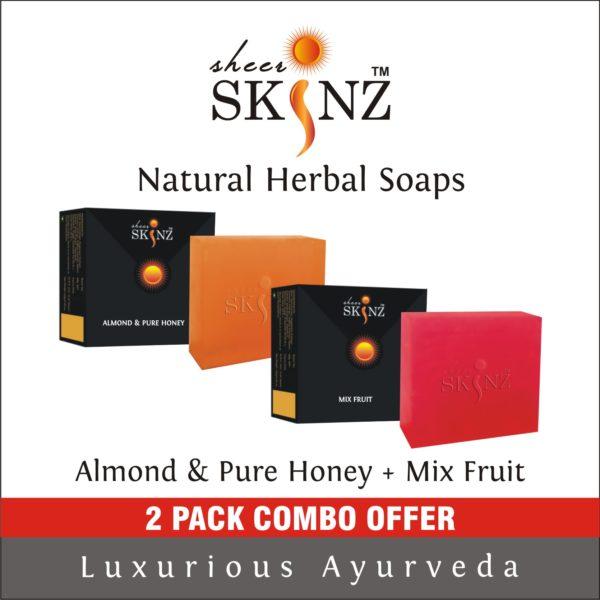 Almond & Pure Honey + Mix Fruit