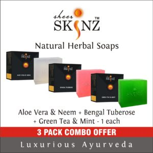 Aloe Vera & Neem + Bengal Tuberose + Green Tea & Mint