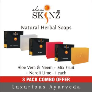 Aloe Vera & Neem + Mix Fruit + Neroli Lime
