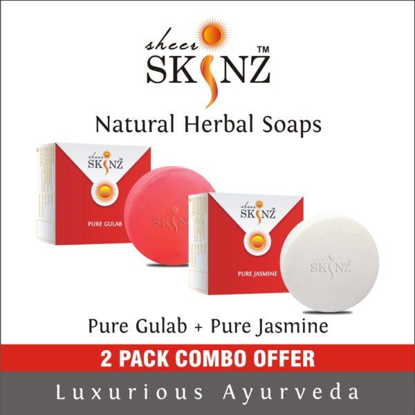 Pure Gulab + Pure Jasmine