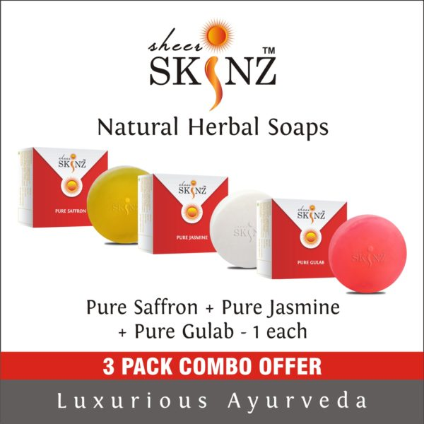 Pure Saffron + Pure Jasmine + Pure Gulab