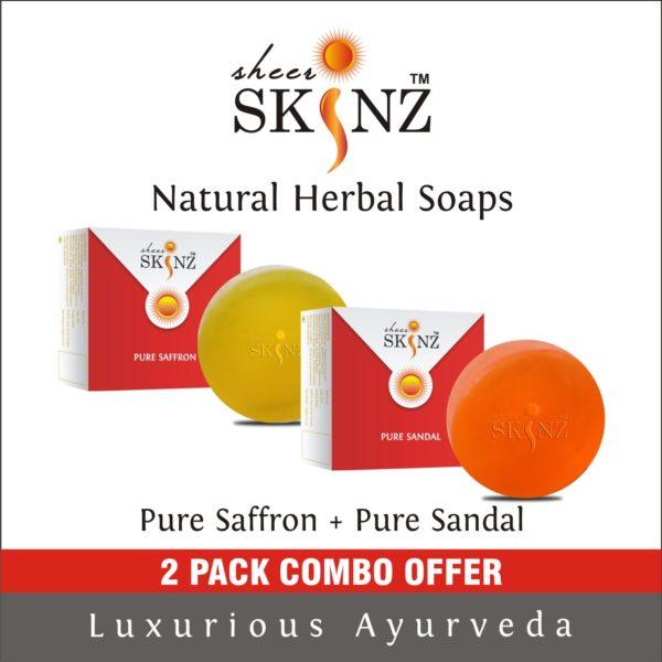 Pure Saffron + Pure Sandal