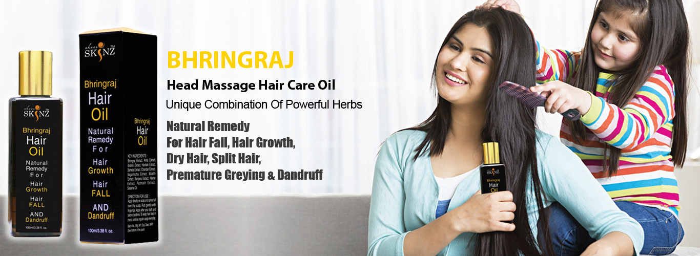 Bhringraj hair oil by sheerskinz