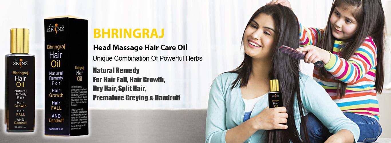 Bhringraj hair oil by sheerskinz