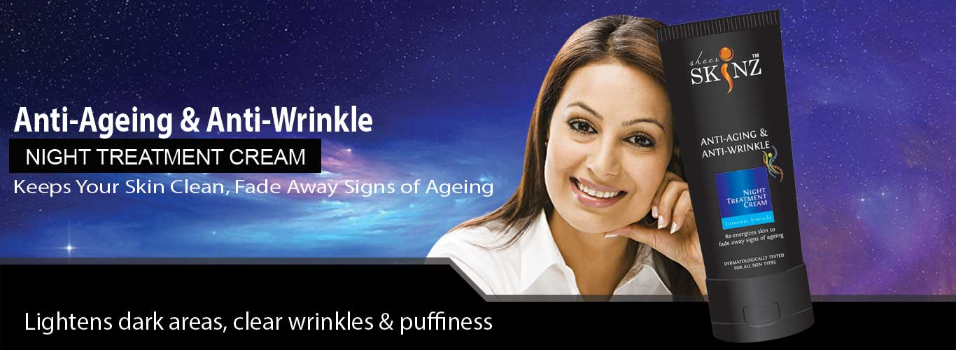 Anti aging and anti wrinkle cream by sheerskinz